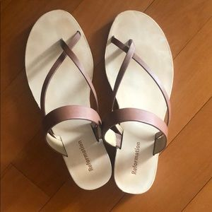 Reformation sandals